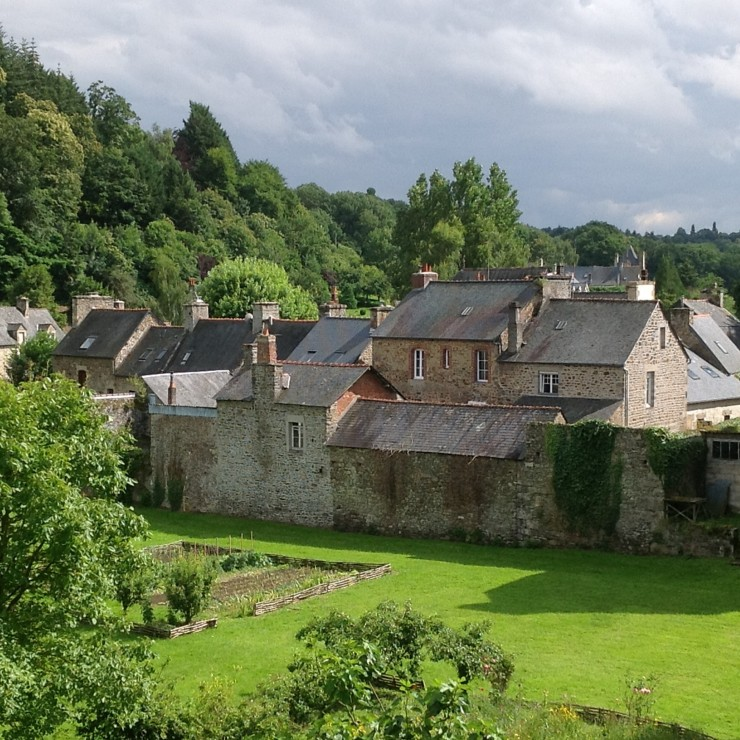 The grounds of the abbey