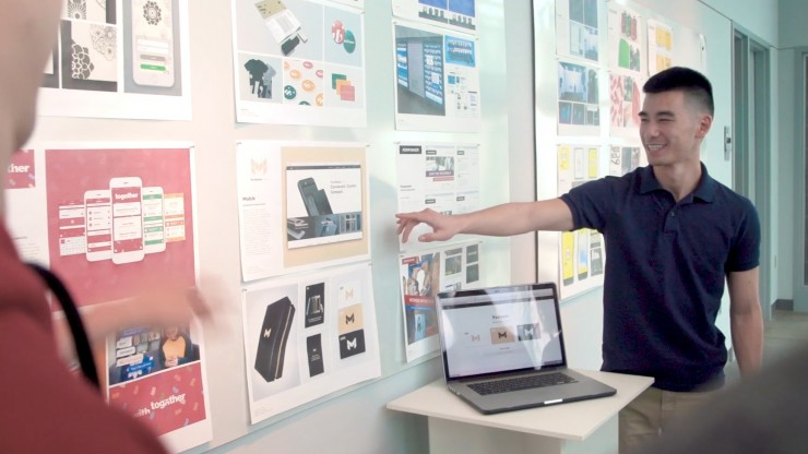 Graphic designers office Workplace Featured Concentration Pcmagcom Graphic Design major Mica