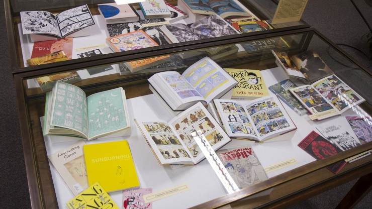 Decker Library Exhibition Case