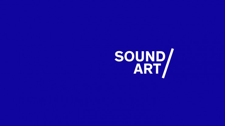 Blue background with Sound Art sub-brand logo overlaid.