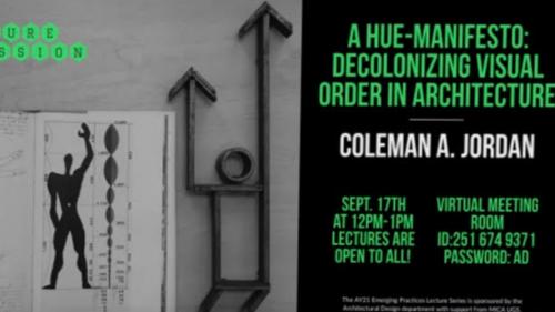 Architectural Design Lecture Poster