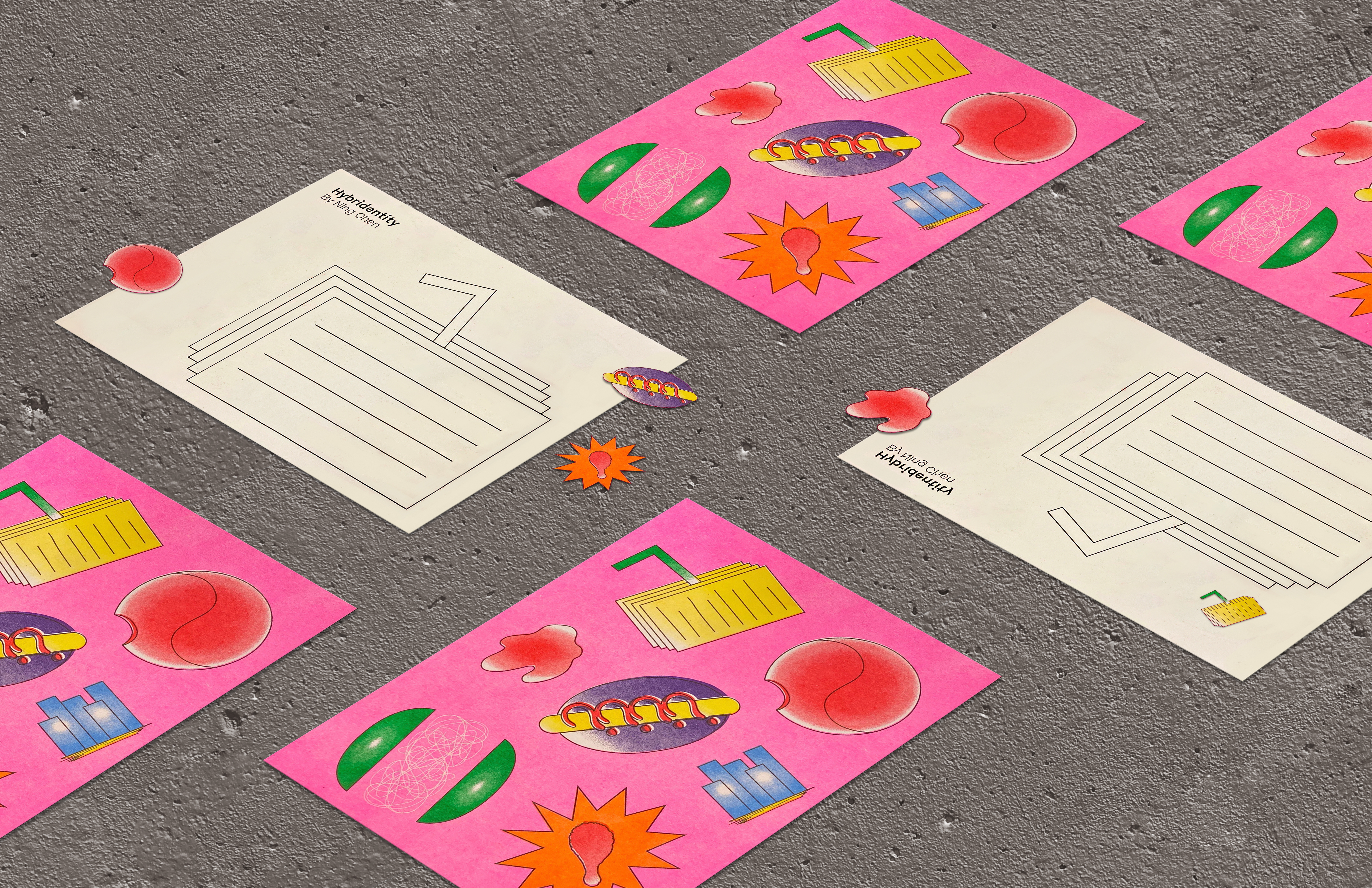 papers with artists design