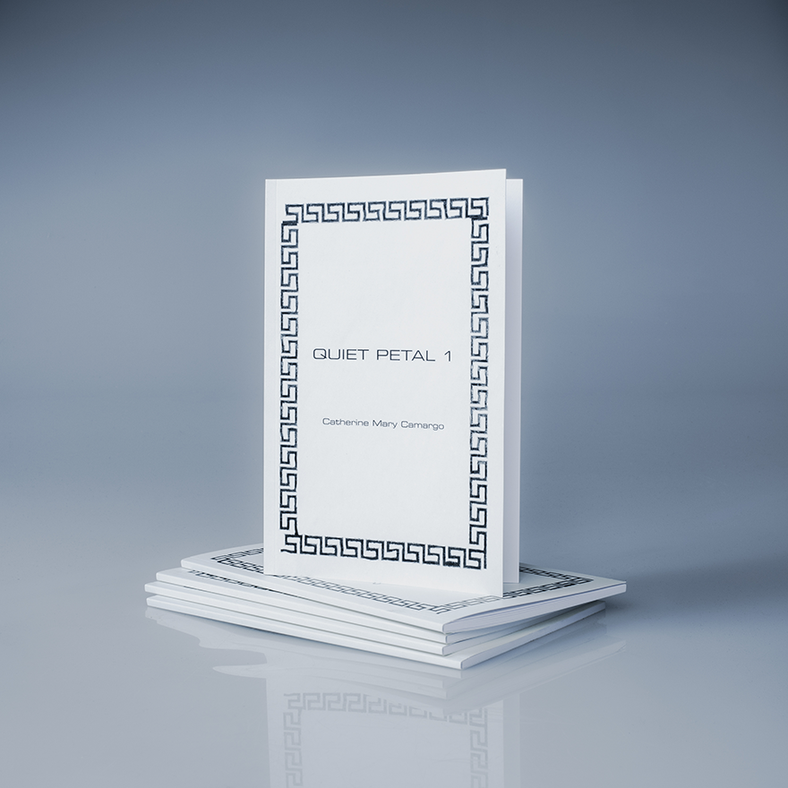 Documented photos of a book with a collection of poems within it