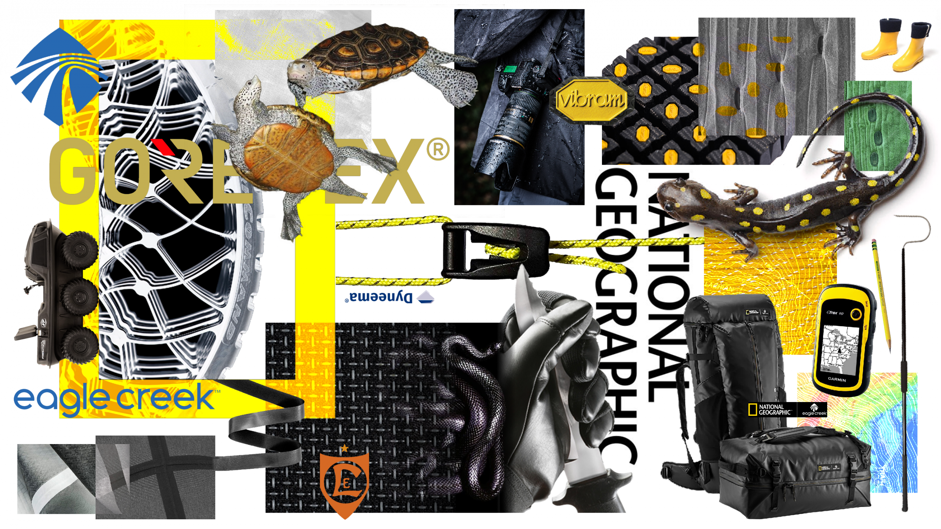 Brand and Material Mood Board