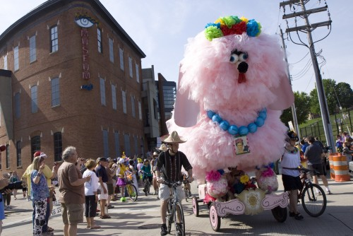 Kinetic Sculpture Race and Fifi