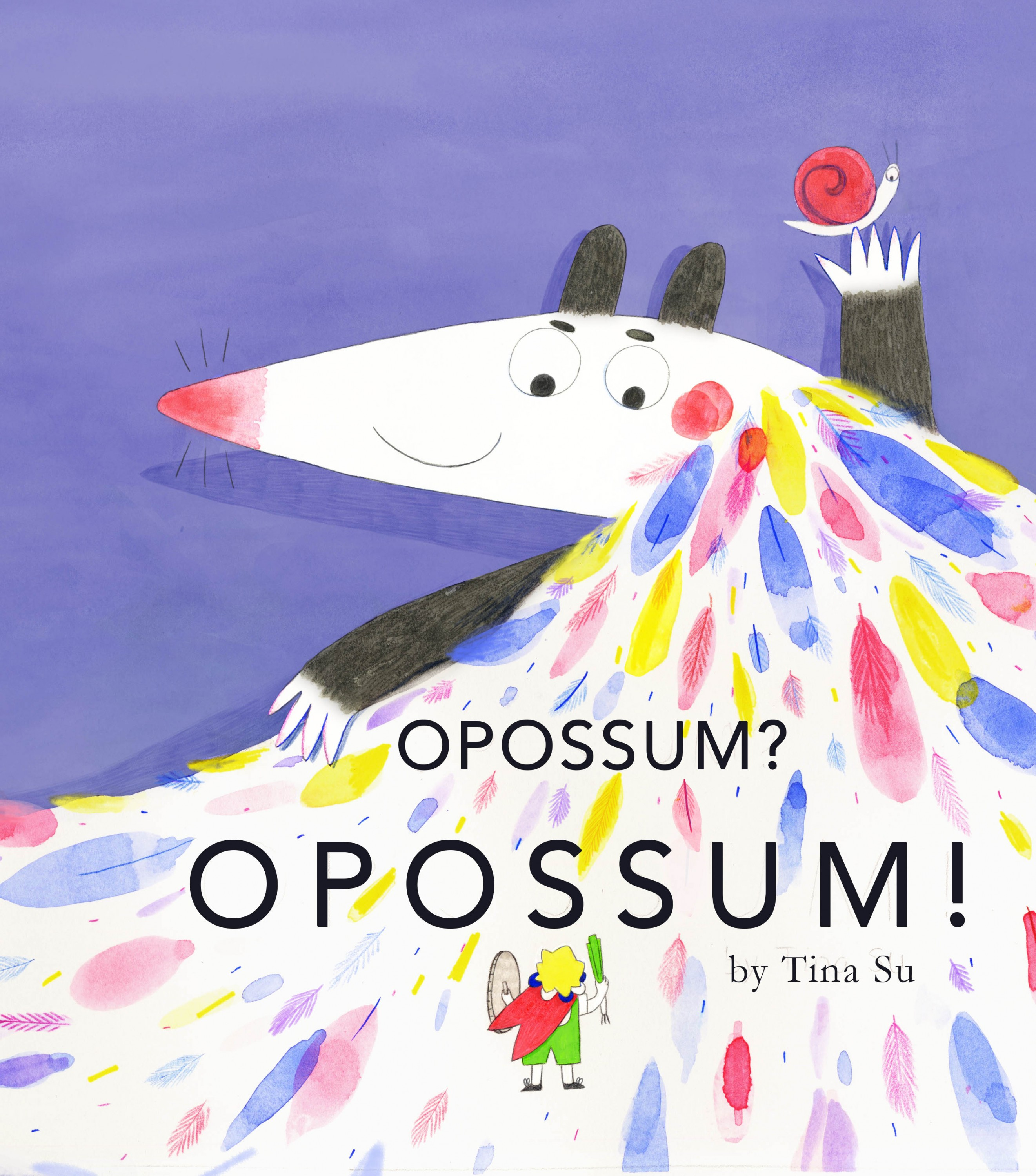 This is a spread from my picture book Opossum? Opossum!