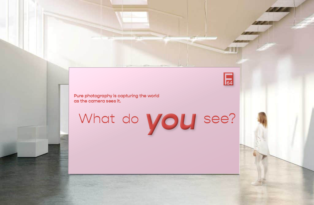 Wall entering section of exhibit using typography and color.