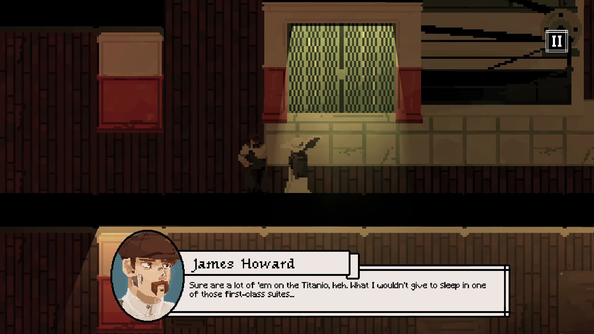 Beyond the Bow is a puzzle adventure game set aboard the Titanic.