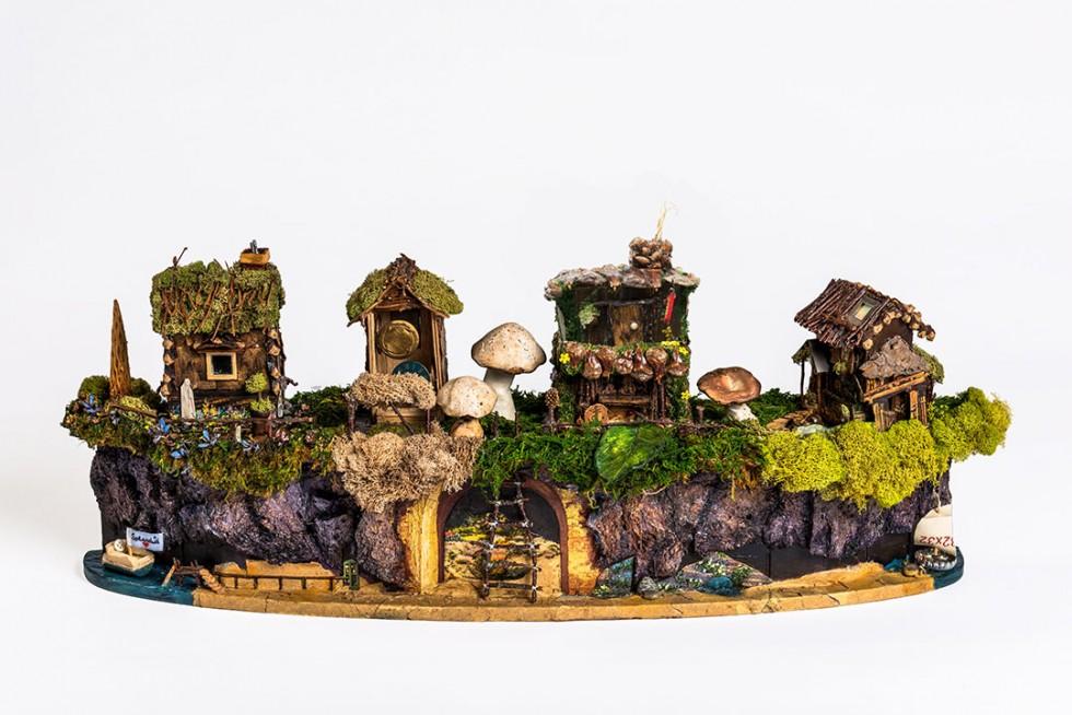 A wee pixie village