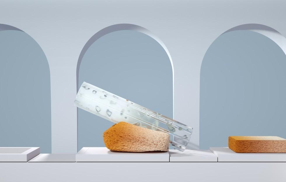 sponges under arches