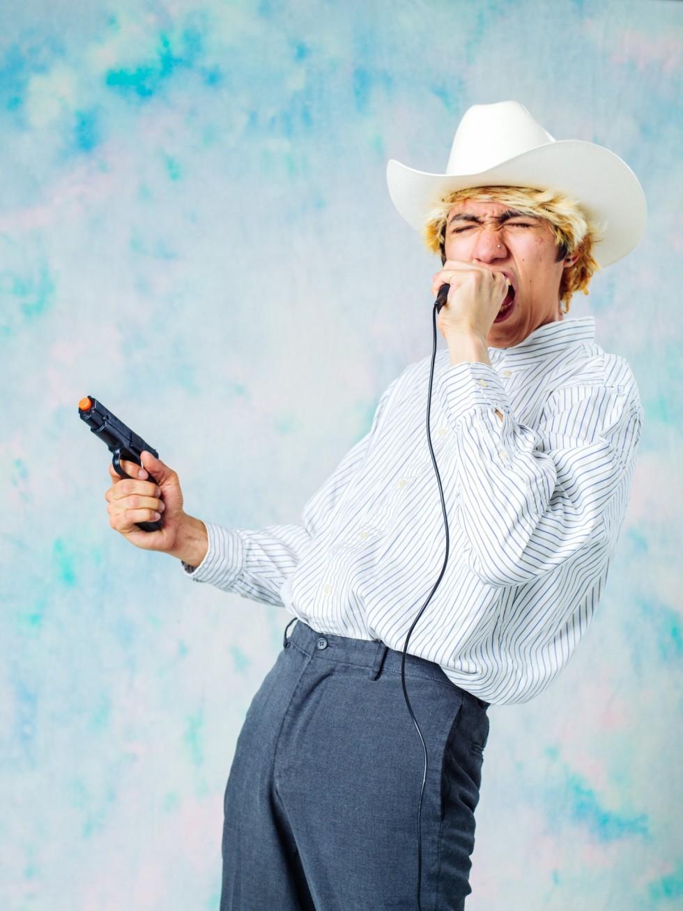 self-portrait as Chalino Sanchez