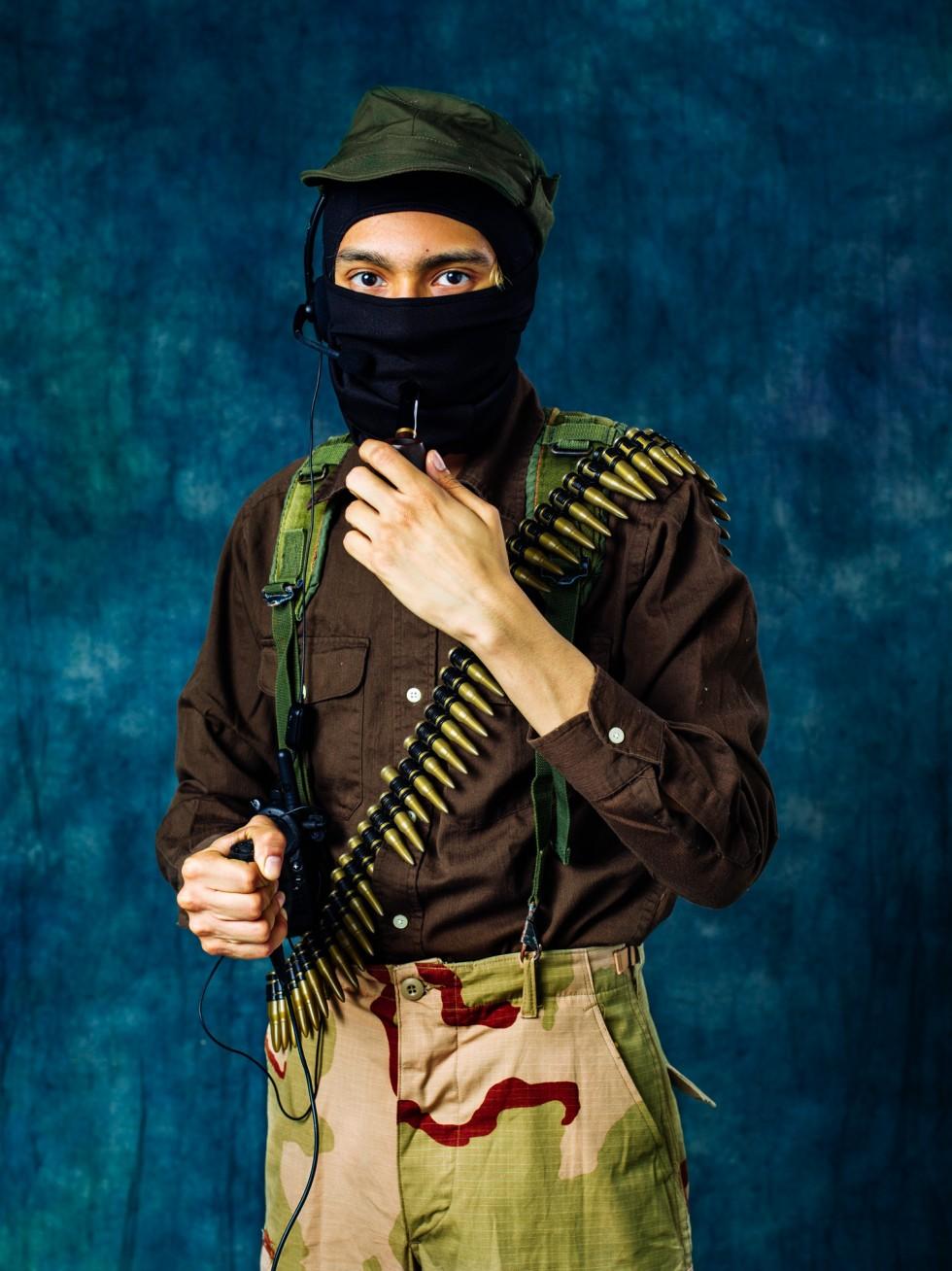 Self-portrait as Subcomandante Marcos