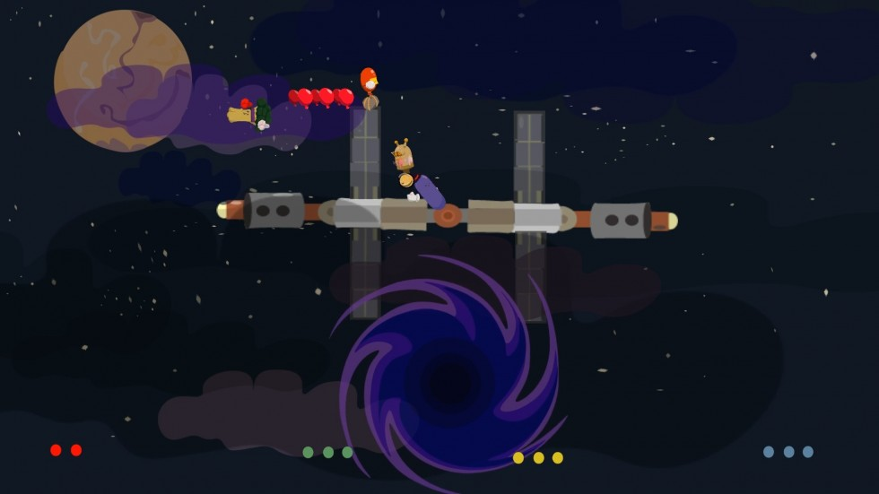 Image of Buddy Brawl gameplay within the second level