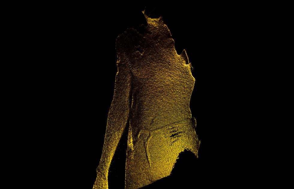 LIDAR scan of human body