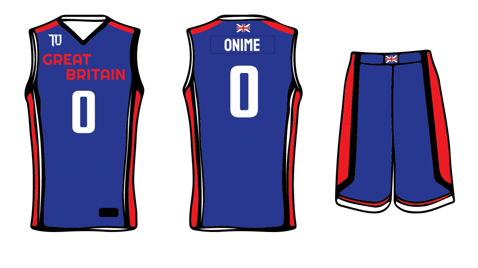 Great Britain Internation Basketball New Uniforms and Branding