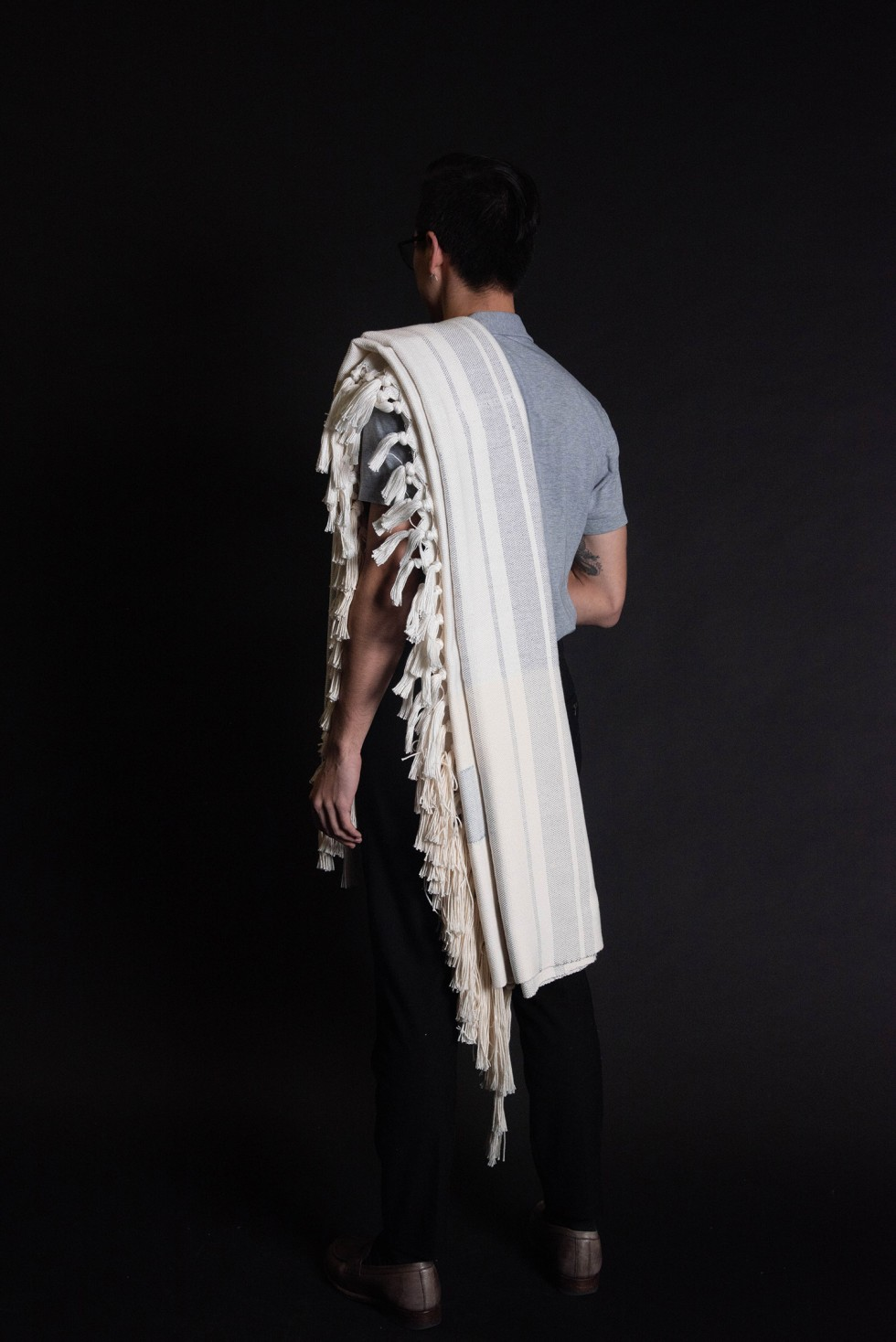 Tallit-003-TKHLT by Jason Greenberg