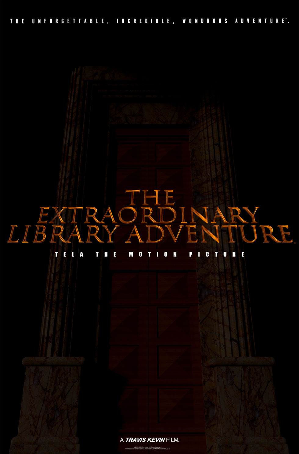 THE EXTRAORDINARY LIBRARY ADVENTURE™. Theatrical Movie Poster