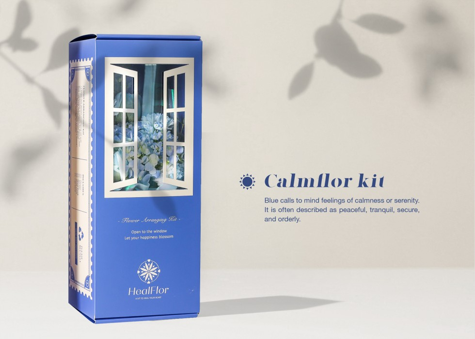 In this flower arranging kit, I hope this kit will help people a chance to learn a skill that can help them maintain good mental health and heal people's moods. This flower arranging kit will help to lead us throughout the process and Cut-Flower care, Hel