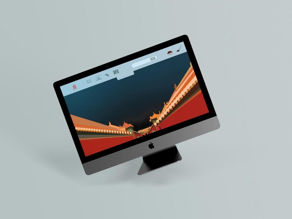 Still images of website