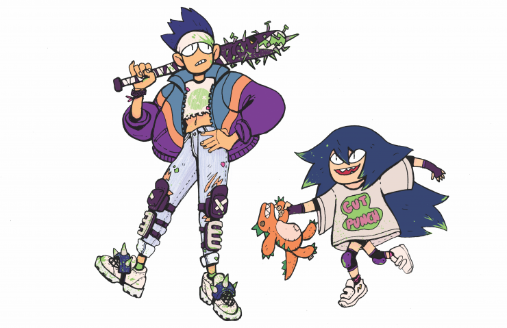 90s Apocalypse Siblings