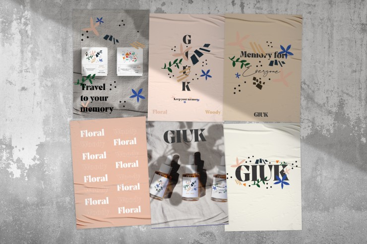 """GIUK"" is selling products of customizing candles and aroma oils. ""GIUK"" is a special brand for people who want to keep their memory. They create customizing candles and aroma oils based on a customer's story. If customers send their stories to them, they"