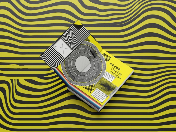 In this artwork is showing the cover of book and the front page that I design based on the knowledge that I understand from privacy & security. The design is mostly collage style with the bright yellow that contrast with the black and white strip.