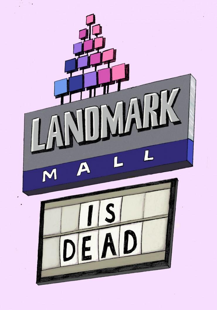 Landmark Mall is Dead