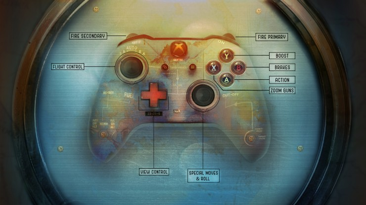 Loading Screen that shows the controller and the controls for each button. Photoshopped.
