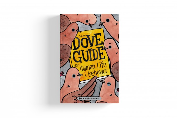 """The cover of the """"The Dove Guide to Human Life & Behavior"""" book"""