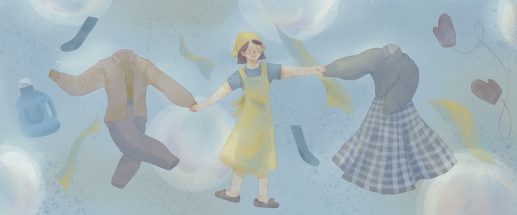 Scent Gallery is a series of illustrations of people's 12 favorite scents that related to childhood memories.