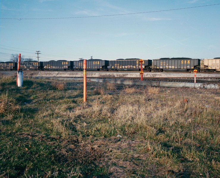 Transportation of Coal and Gas. Archival inkjet print