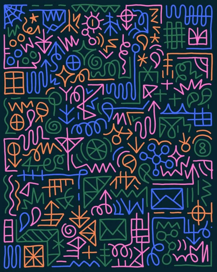 Multi-Color Digital Drawing