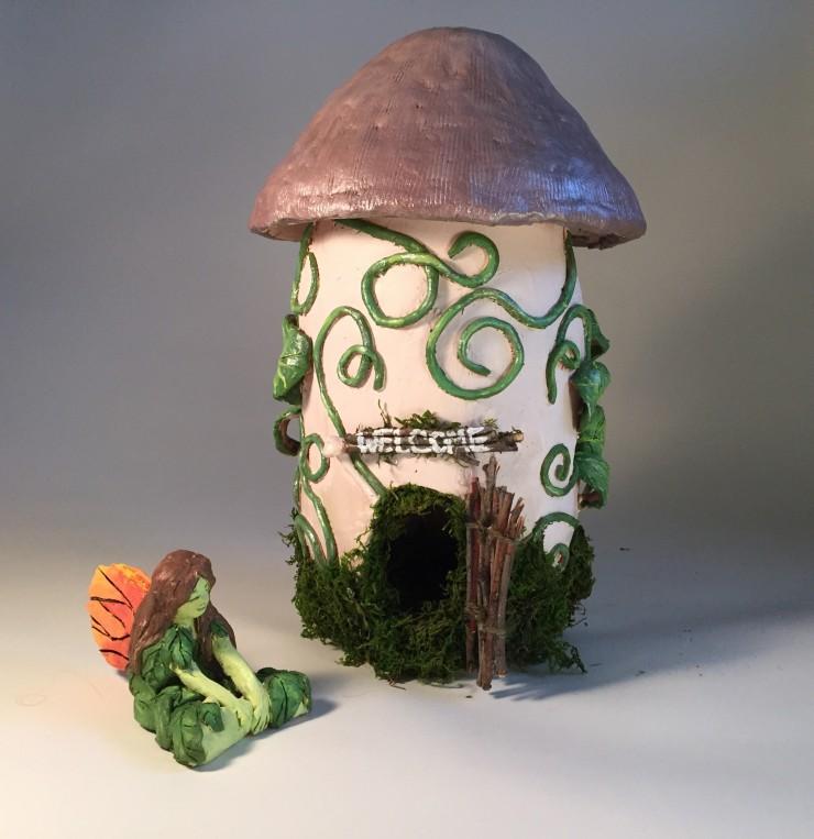 Faerie Mushroom House