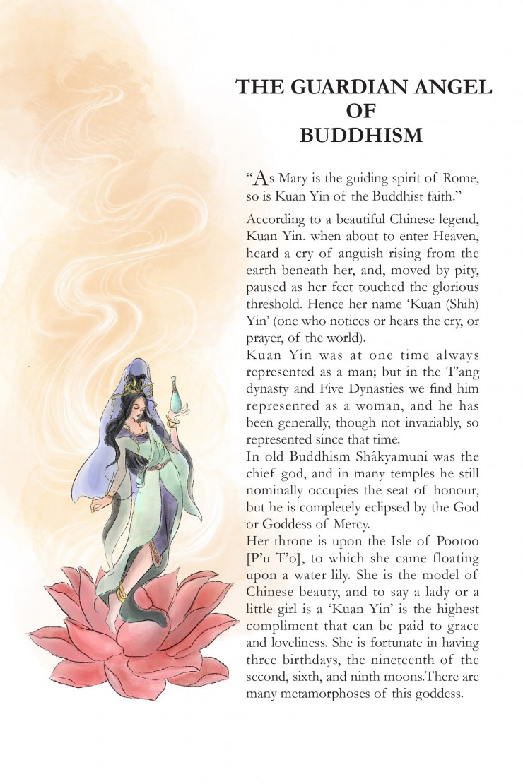 The Guardian Angel of Buddhism From Chapter X The Goddess of Mercy