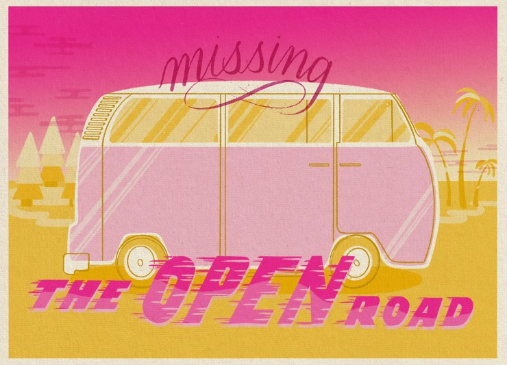 Postcard #4: Open Road