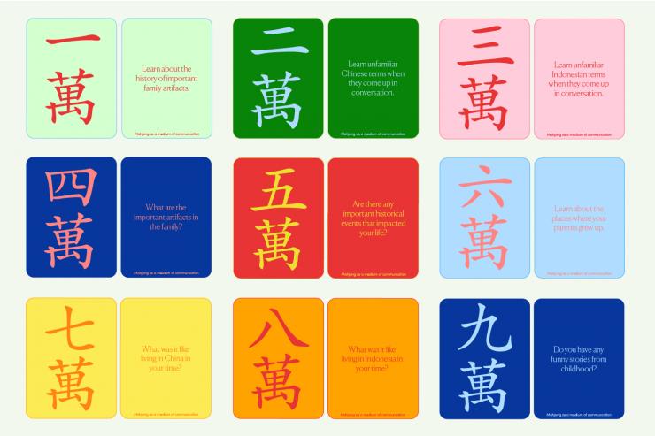 Mahjong Tile Designs