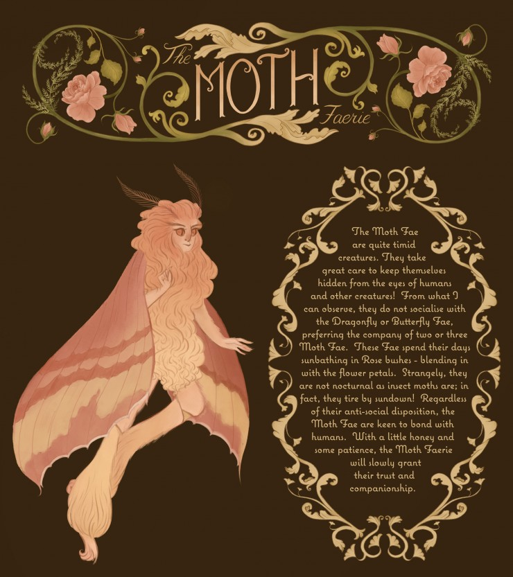 The Moth Faerie