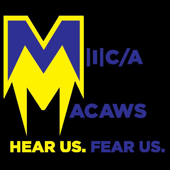 MICA Macaws Branding