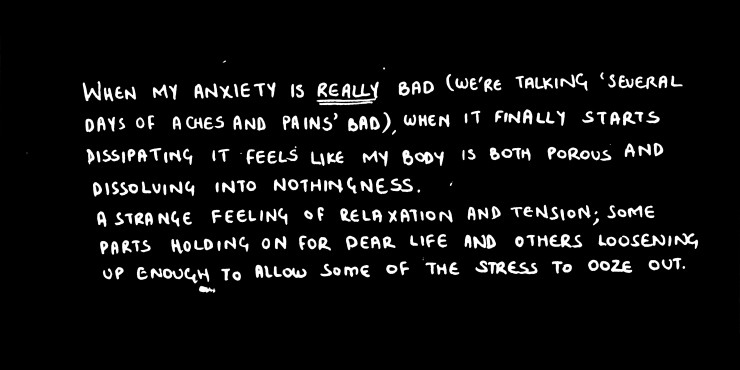 When Anxiety Leaves I by Rohama Malik