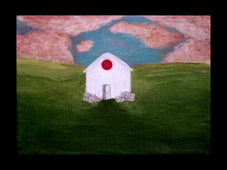 Red Window paintings
