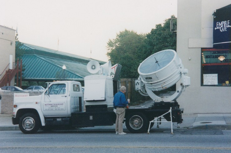Photograph of Pop's Searchlight Truck by Alli Reichert