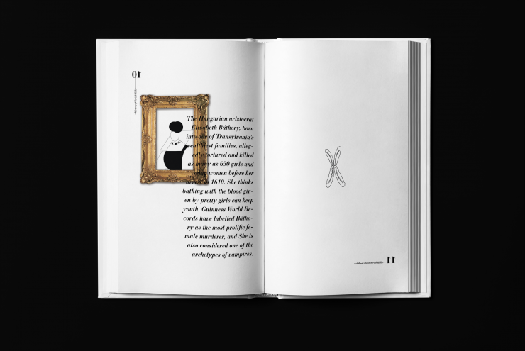 """""""A Book about Serial Killer"""" is a data visualization book about the history, psychology, genetics of serial killers that can interact with the audience. Based on the investigation in the design process, I have produced some evidence from notorious serial"""