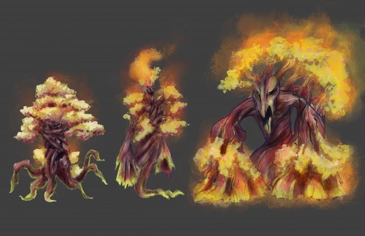 Cypress Tree Monster Boss