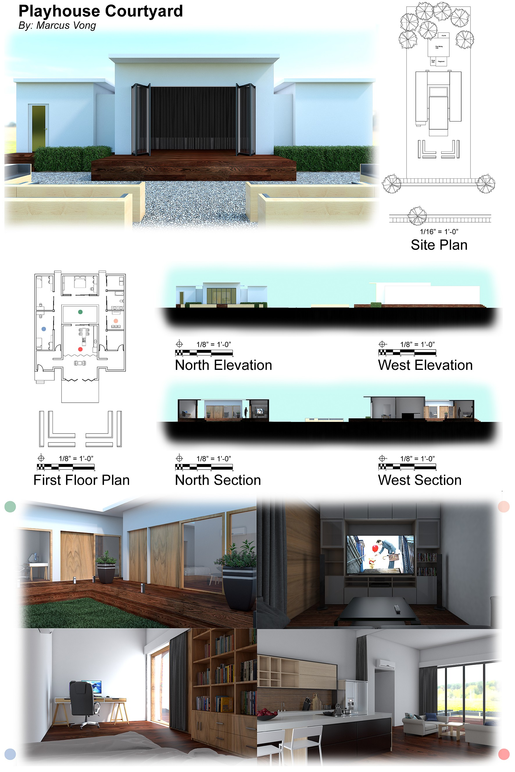 Design Board for Playhouse Courtyard