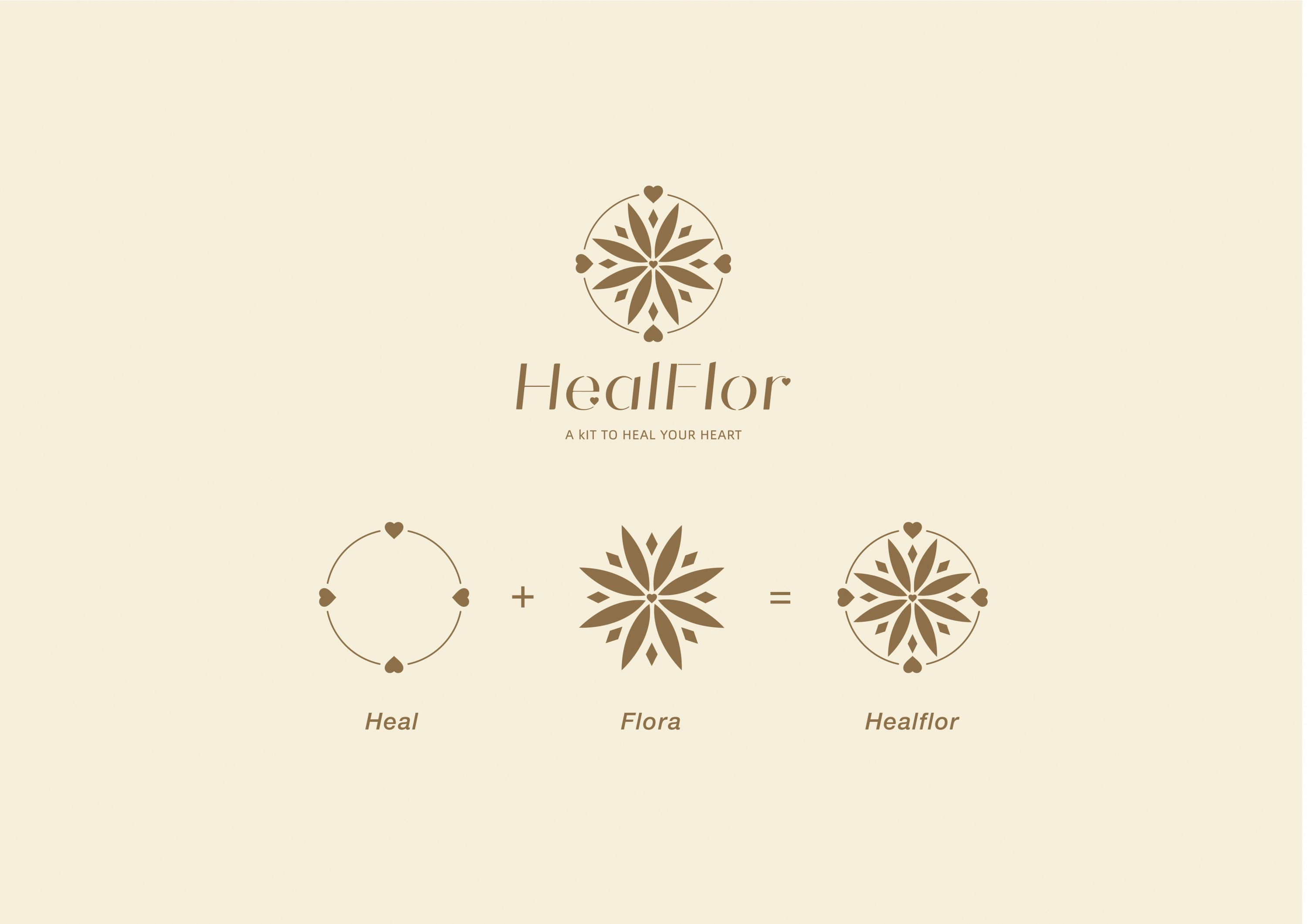 HealFlor is a new branding, launch flower arranging kit to promotes positive mental health, started this project because society has a huge problem with stree in this country, 68% of American report feeling stressed multiple time per week, 32% experience
