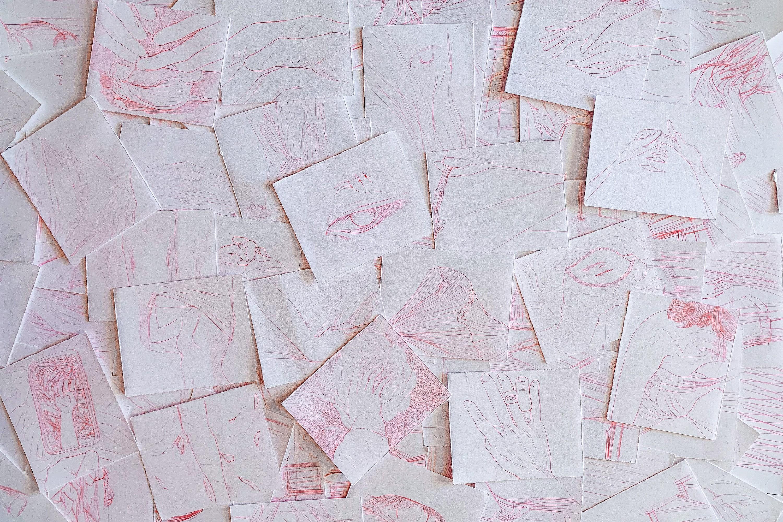 drawings of body