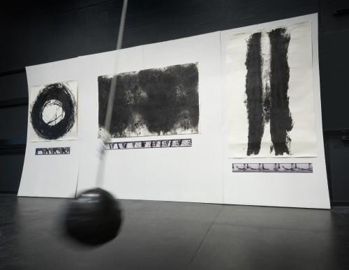 Artwork installation by Christina Stone