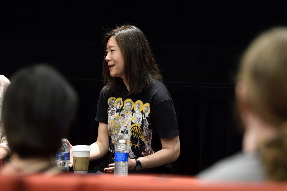 Filmmaker Sandi Tan during her masterclass on April 6, 2019.