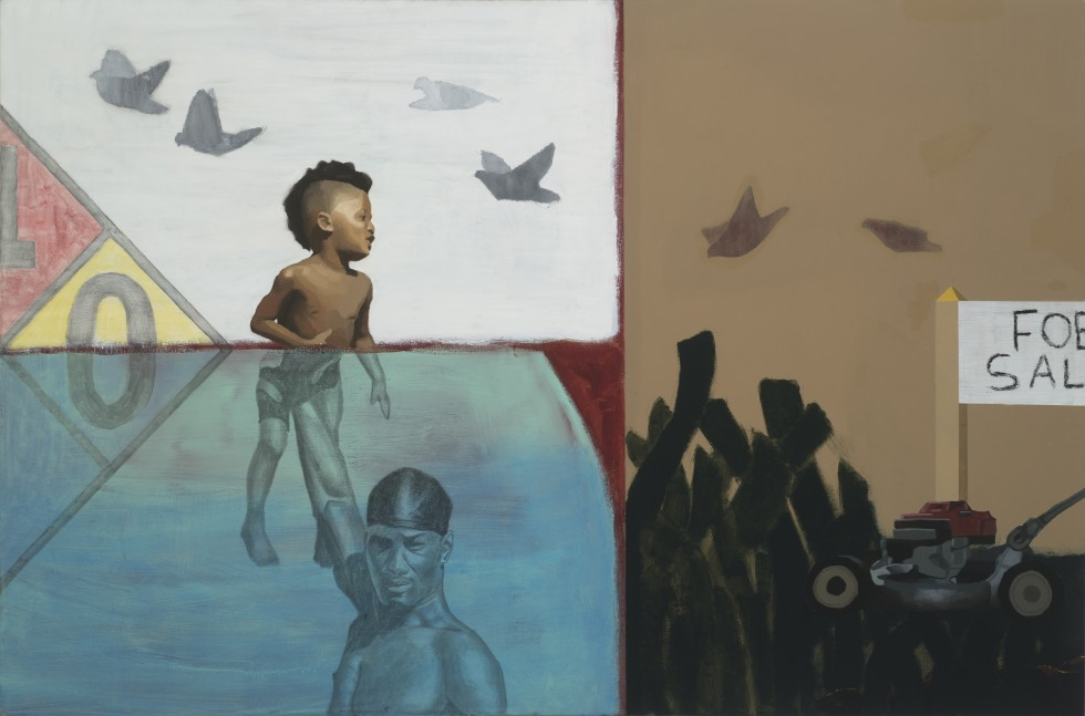 Untitled painting by Andrew Gray