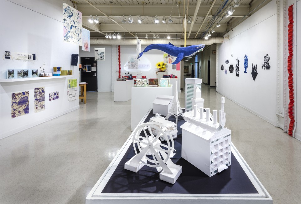2017 Book Arts Exhibition in Pinkard Gallery